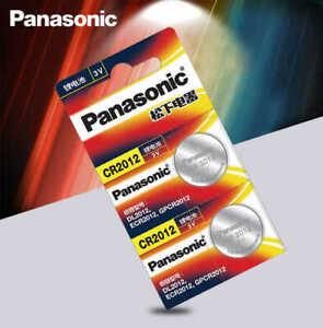 2pcs  PANASONIC cr2012 3v button cell coin batteries CR 2012