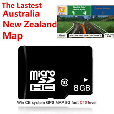 8GB GPS Navigation  maps micro SD card  for WIN CE system 800 * 480  resolution