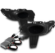 2004 2005 2006 MAZDA 3 MAZDA3 4DR BUMPER FOG LIGHT SMOKE+HARNESS W/50W 6000K HID