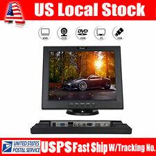 "12"" TFT LCD Monitor 800*600 Aspect Ratio 4:3 HDMI AV For CCTV Security Camera PC"