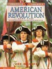 Chronicle Of America: American Revolution, 1700-1800-ExLibrary