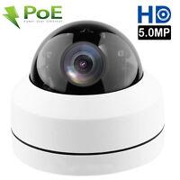 5.0MP Mini PTZ IP Camera HD 2592x1944 Pan/Tilt 4X Zoom IR Dome Camera POE P2P
