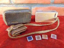 Vintage SUBMINIATURE MINOLTA 16 Pocket CAMERA ROKKOR LENS Chiyoda Kogaku JAPAN