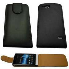 caseroxx Flip Cover for Sony Xperia Go in black made of faux leather