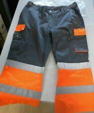 Litz Arbeitshose Bermuda 3/4 Länge SIGNAL 09 4922290 orange/grau Gr. 52 Neu