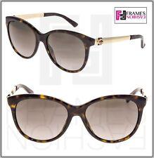 0acea8ff9cb Gucci Sunglasses 3784 s 0ant Dark Havana Gold 56mm