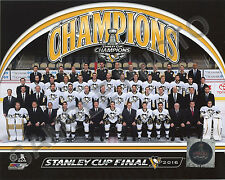 16x20 Pittsburgh Penguins 2016 Stanley Cup Champions Formal Sitdown Team Photo