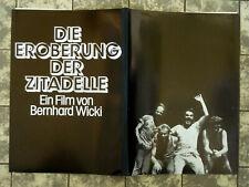 EROBERUNG DER ZITADELLE * PRESSEHEFT Pressbook German BERNHARD WICKI ´77