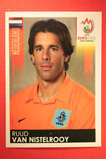 Panini EURO 2008 N. 274 VAN NISTELROOY NEDERLAND NEW With BLACK BACK TOPMINT !!