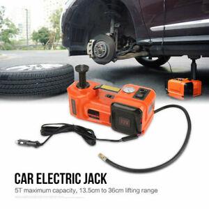 5T Car SUV Hydraulic Electric Jacks Floor Lift Tire Change Car Repair Tool Kit