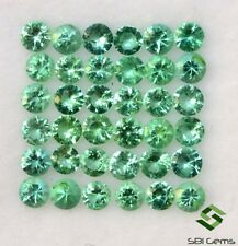 Natural Emerald Round Diamond Cut 2.50 mm Lot 10 Pcs Faceted Loose Gemstones