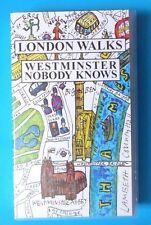 LONDON WALKS WESTMINSTER NOBODY KNOWS VOLUME 1 VIDEO VHS 1996