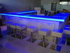 Portable Bar Pub LED illuminated Glowing Home indoor outdoor Tiki Hospitality
