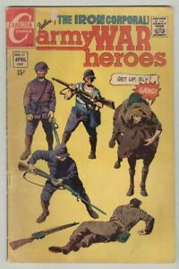 Army War Heroes #37 April 1970 G/VG