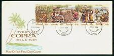 Mayfairstamps Tokelau FDC 1984 Copra Production Combo First Day Cover wwh_31761