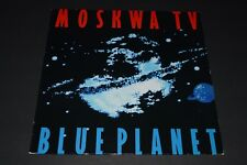 Moskwa TV~Blue Planet~AUTOGRAPHED Inner Sleeve~1987 Synth-Pop~German IMPORT~