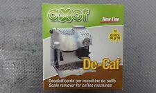 AXOR DECALCIFICANTE MACCHINA CAFFE' DE-CAF SAECO GAGGIA BIALETTI 10 PZ OFFERTA