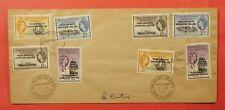 1961 FALKLAND ISLANDS TRANS-ANTARCTIC EXPEDITION OVERPRINTS
