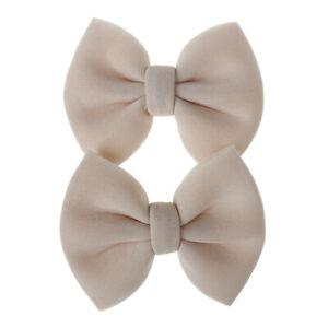 Fashion Kids Bow Barrettes 2Pcs/Set Kids Hair Clip Baby Girls Hairpins Accessory