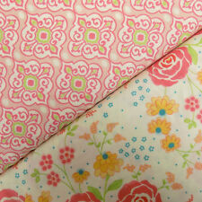 Moda Chance of Flowers - Floral Craft Cotton for Patchwork Quilting, Fat Quarter