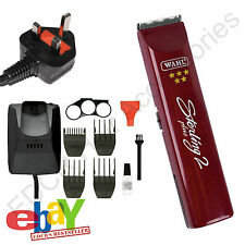 Wahl Sterling 2 Plus 5* Professional Rechargeable Cordless Trimmer UK/EU Voltage