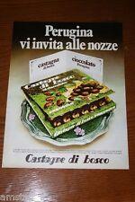 BF19=1972=PERUGINA CASTAGNE DI BOSCO CIOCCOLATO=PUBBLICITA'=ADVERTISING=WERBUNG=