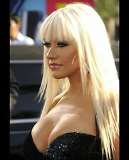 Christina Aguilera Sexy Singer 8x10 Red Carpet Photo #9