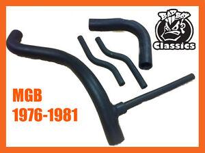 Mgb 1976-1981 Gomma Paraurti Tubo Kit Set Alta Qualità Rinforzo