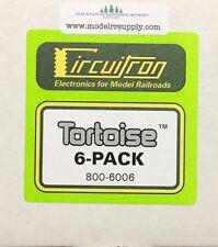 Circuitron 6006 Tortoise Switch Machine 6 Pack NEW 800-6006    MODELRRSUPPLY-com