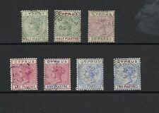 Single Victorian (1840-1901) Cypriot Stamps
