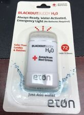 Eton Red Cross Blackout Buddy H2O Water Activated Emergency Light New Sealed
