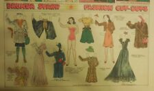 Brenda Starr Sunday with Large Uncut Paper Dolls from 9/20/1942 Full Size Page