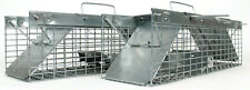 2 Havahart Live Animal Metal Cage Traps 1025 Pest Small Rodent Rat Squirrel 18""