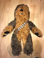 "BUILD A BEAR Disney Brown CHEWBACCA Bear STAR WARS Plush 20"" BABW"