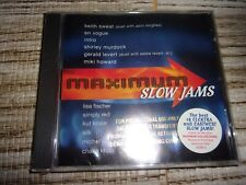 MAXIMUM SLOW JAMS - CD - NEW