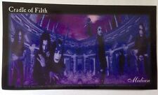 "Cradle of Filth Sticker 6""x3"""
