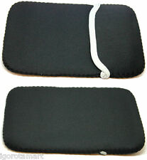 "Black 7"" Soft Sleeve Bag Case Cover Pouch For 7 inch Tablet Ebook Reader"