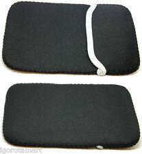 """Negro 7"""" Suave Funda Bolso Estuche Cubierta Petaca Para 7 in (approx. 17.78 cm) Tablet Ebook Reader"""