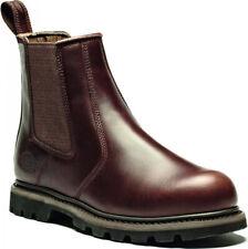 Dickies Fife Steel Toe-Cap Dealer Boots - Black or Brown Sizes 5.5-12 FD9214A