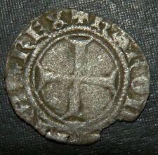 Medieval Silver Coin Lot 1200-1300 Ad Crusader Templar Cross Ancient Fish Ocean