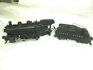 Lionel 1665 Switcher Steam Engine  2403B Tender O Gauge runs & Rings read desc.