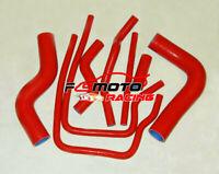 RED For Subaru Impreza GC8 GF8 EJ20 WRX STI GT MK3/4/5/6 Silicone Radiator Hose