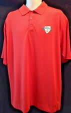 MENS CUTTER BUCK DRY TEC GOLF POLO SHIRT SIZE  L RUST 2010 US AMATEUR