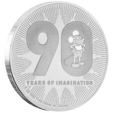 Niue 2 Dollar 2018 Disney™ Mickey Mouse™ 90. Geburtstag - 2 Oz Silber ST