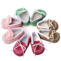 Fashion Doll Cotton Shoes Accessories For 18 inch Our Generation D Girl Boy A0J1