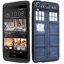 For HTC Desire 626 626s Soft TPU gel skin cell phone Case cover-(BK)Police-in-a-