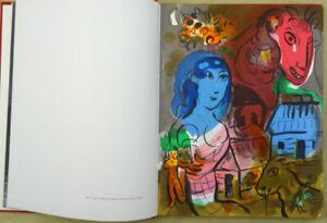 Chagall - Originallithographie - Hommage à Marc Chagall 1976