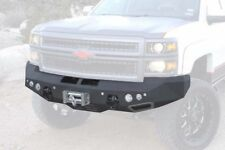 SmittyBilt M-1 Front Bumper w/FOG LIGHTS 11-14 FOR chevy Silverado 2500 15 3500