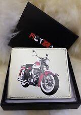 Golunski Leather retro wallet Motorbike motorcycle