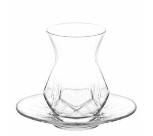 Bonilo Teegläser Set für 6 Personen | neues Design | Teeset | Teeservice 12 tlg